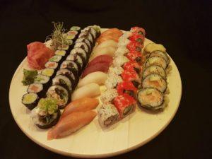 Zestaw 50 sztuk najlepsze sushi