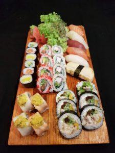 Sushi zestaw - 36 sztuk